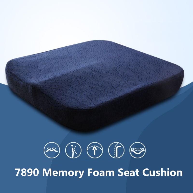 New Memory Foam Seat Cushion Coccyx Orthopedic Chair Car