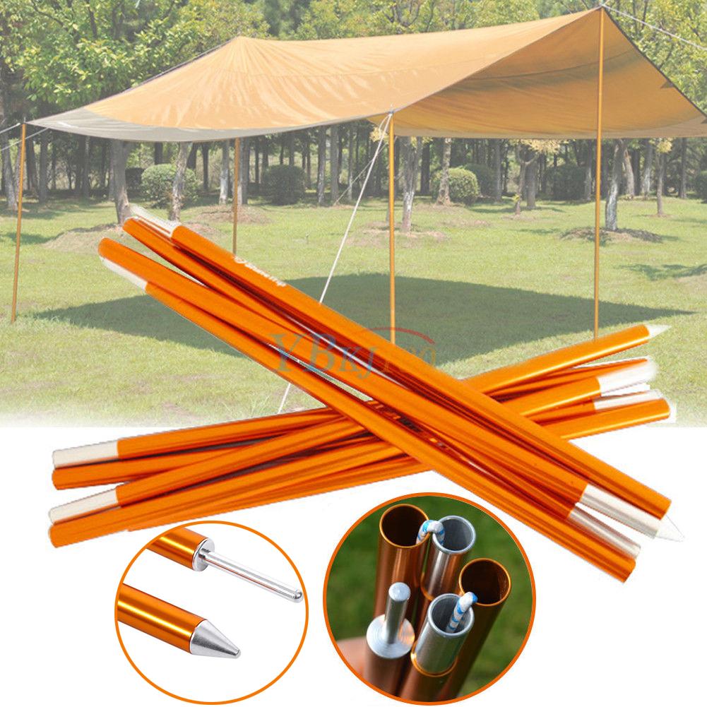 2x Outdoor Camping Baldachin Zeltstange Sonnenschutz