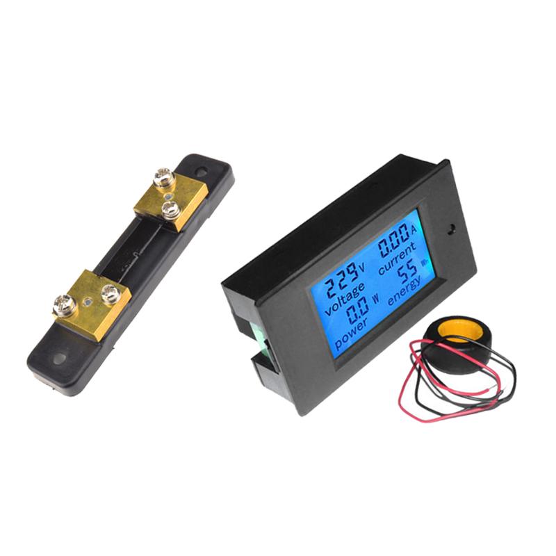 7 2 Volt Hour Meters : A lcd digital volt watt current power meter ammeter