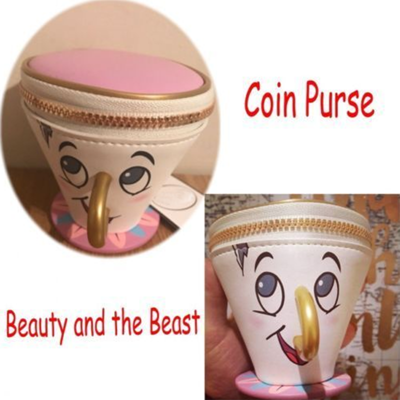 3d cup primark beauty and the beast chip coin purse. Black Bedroom Furniture Sets. Home Design Ideas