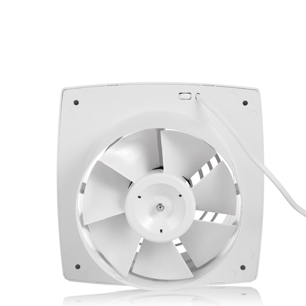 "Bathroom 80 Cfm Ceiling Wall Mounted Exhaust Fan Light Air: 6"" 150mm 160CFM Small Light Bathroom Wall Mounted Exhaust"