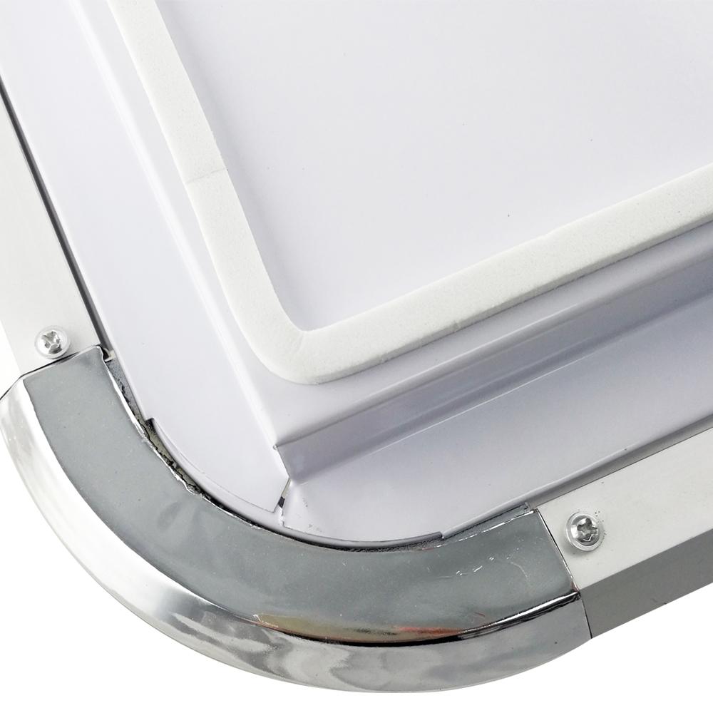 48w led deckenlampe deckenleuchte warmwei wohnzimmer k che b ro wandlampe ip44 ebay - Led buro deckenleuchte ...