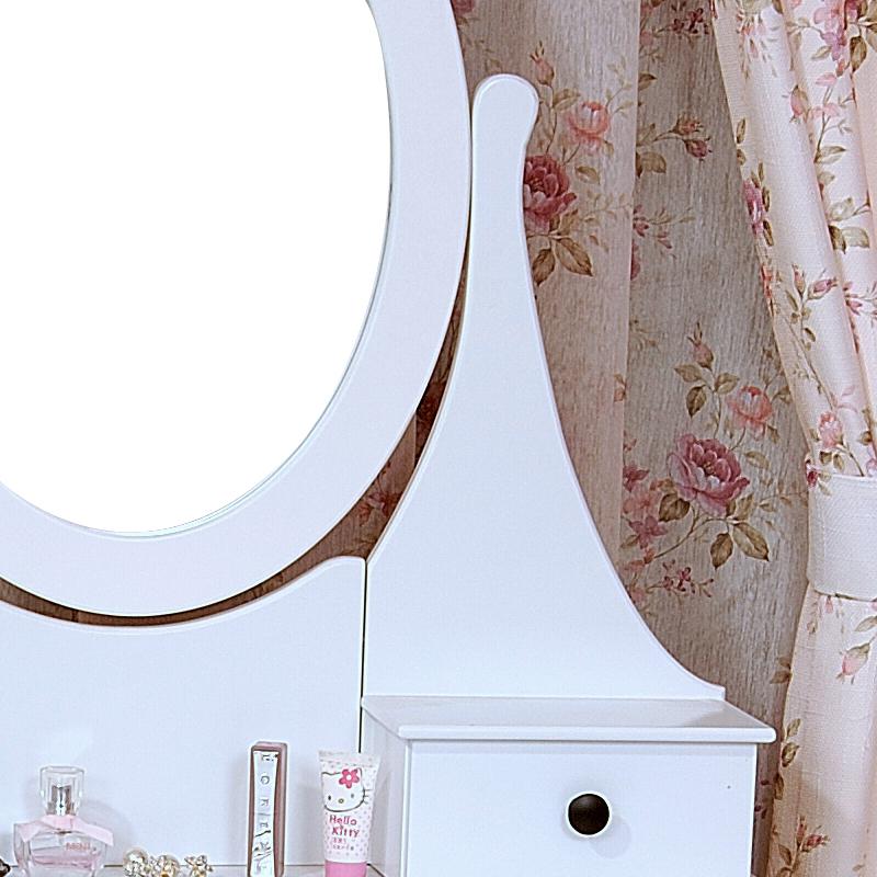 schminktisch kosmetiktisch frisierkommode frisiertisch spiegel mit hocker barock ebay. Black Bedroom Furniture Sets. Home Design Ideas