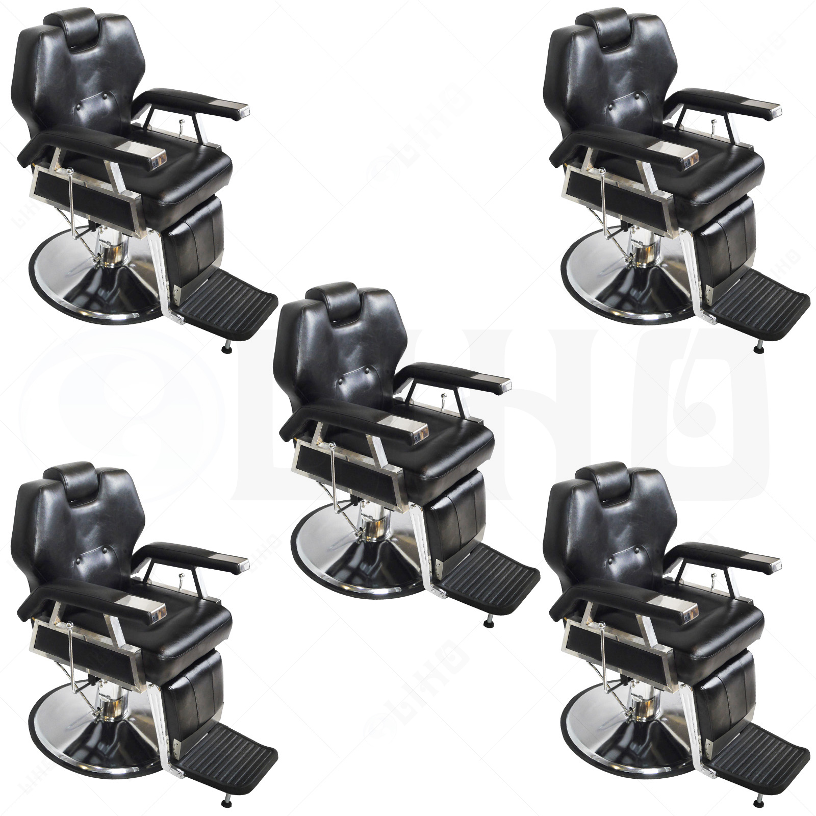Hydraulic reclining barber chair salon hair styling beauty for Sell salon equipment
