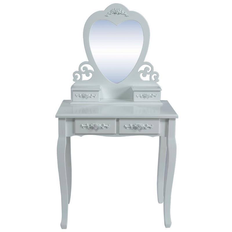 schminktisch mit hocker kosmetiktisch frisierkommode. Black Bedroom Furniture Sets. Home Design Ideas