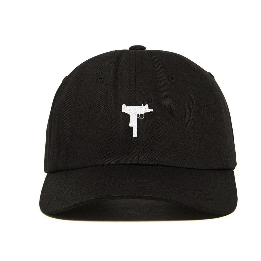 new uzi gun dad hat snapback hat strapback baseball cap. Black Bedroom Furniture Sets. Home Design Ideas