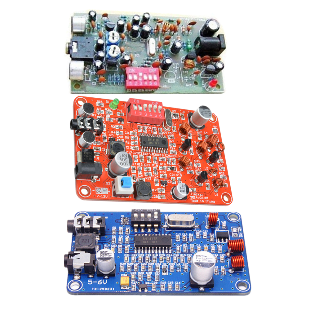 Ch2 Bh1417 Wireless Fm Stereo Transmitter Module Digital Radio Also With Simple Circuit Station Pll Kit