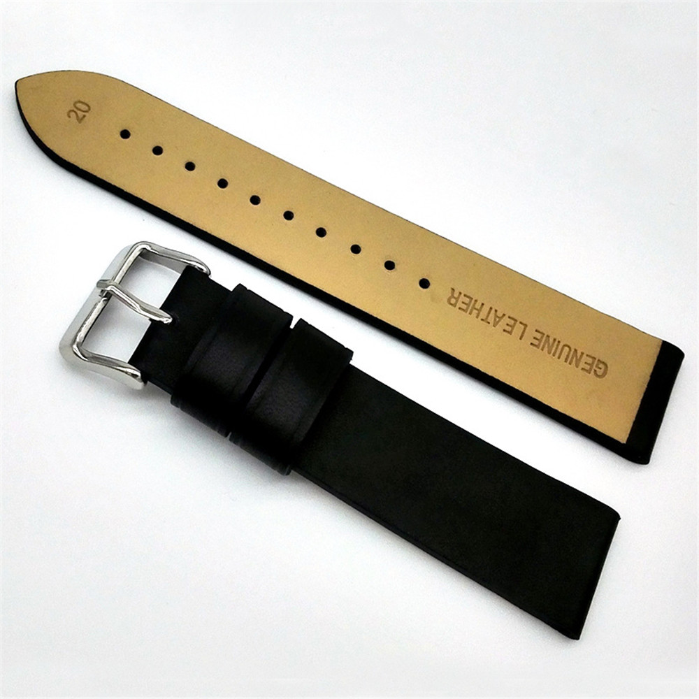 womens mens soft genuine leather watch band strap