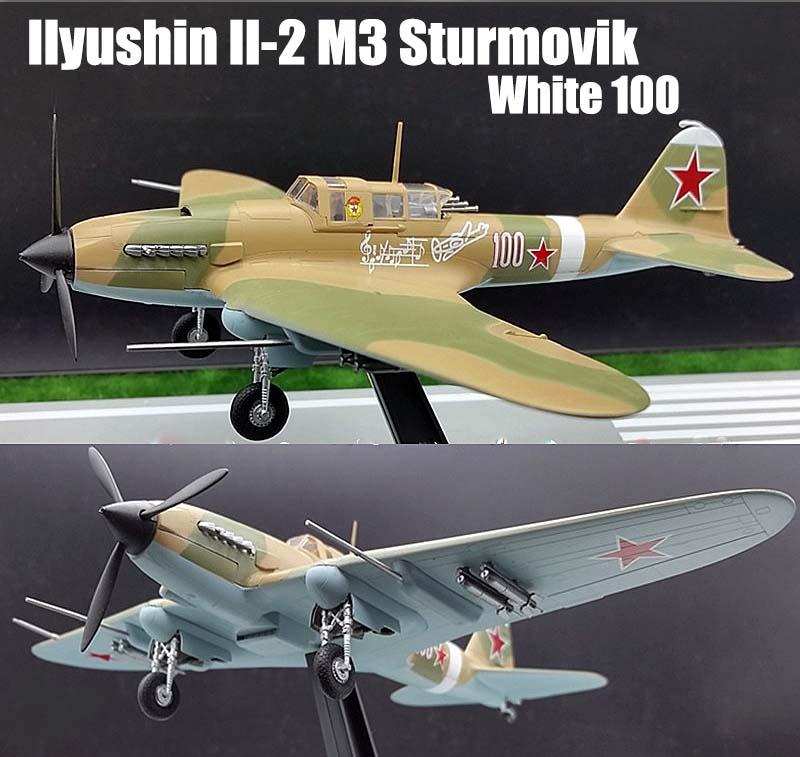 Russian Ilyushin Il-2 Sturmovik Ground Attack 1/72 No