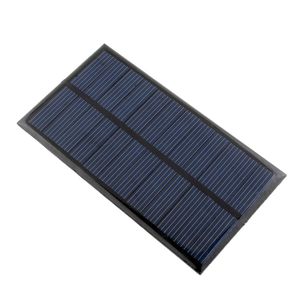 Integrated Circuits Mini 6v 1w Solar Panel Bank Solar Power Board Module Portable Diy Power For Light Battery Cell Phone Toy Chargers
