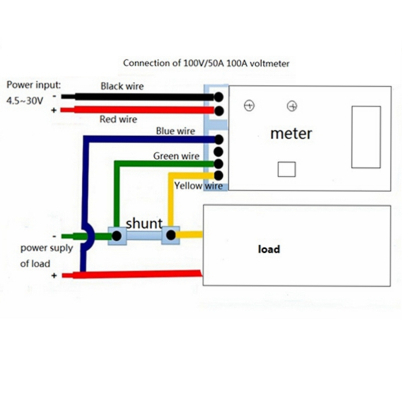 on dc amp meter wiring diagram rv