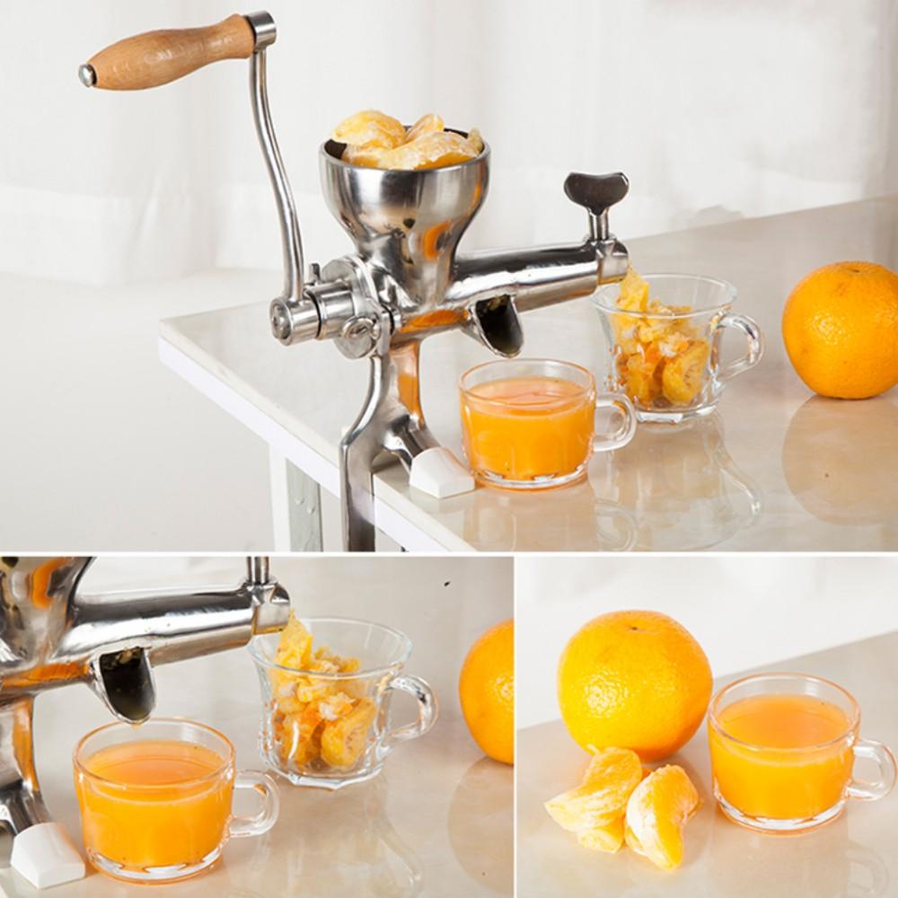 edelstahl hand juicer weizen gras squeezer obst gem se. Black Bedroom Furniture Sets. Home Design Ideas
