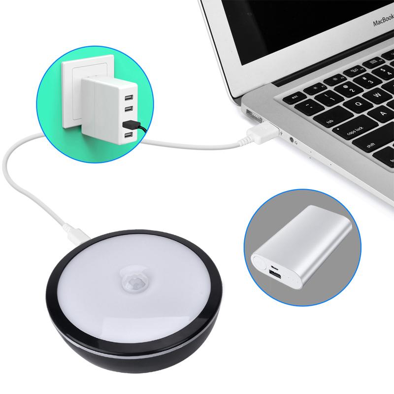 2x led unterbauleuchte nachtleuchte nachtlicht mit bewegungsmelder sensor lampe. Black Bedroom Furniture Sets. Home Design Ideas