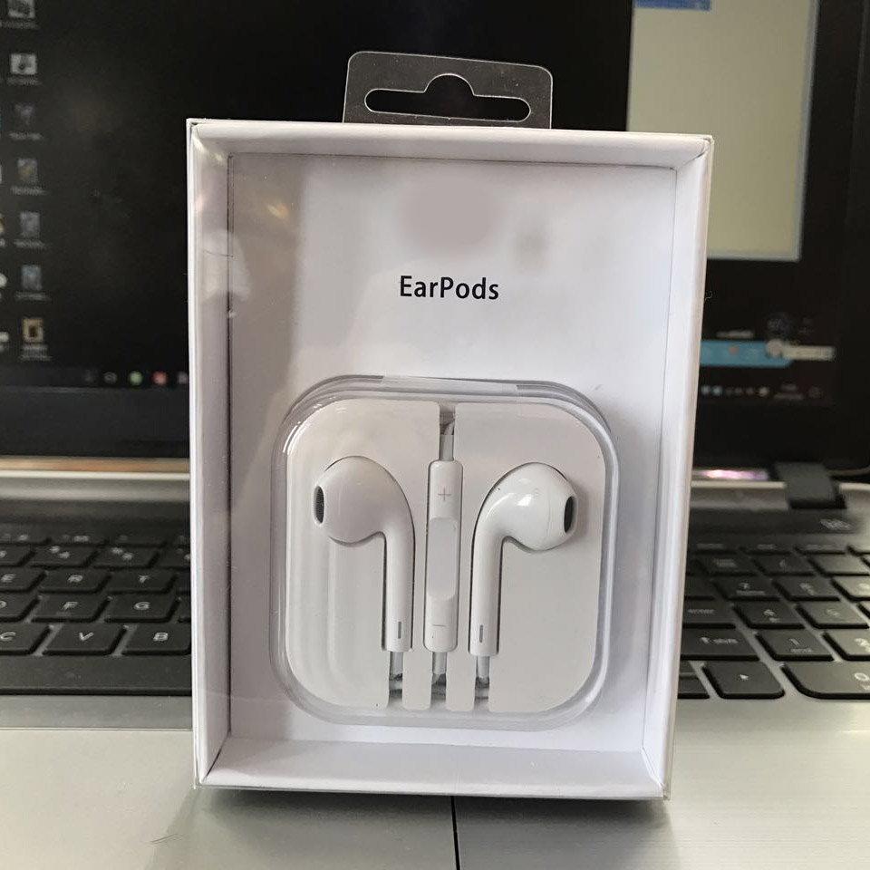 New OEM Apple iPhone 5 5S 6 6S EarPods Earphones W/Remote ...