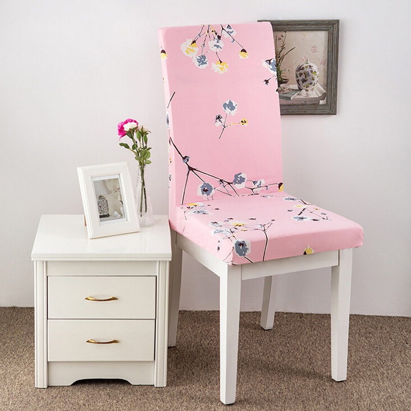 stretch dining chair cover washable removable slipcover dinning cover ebay. Black Bedroom Furniture Sets. Home Design Ideas