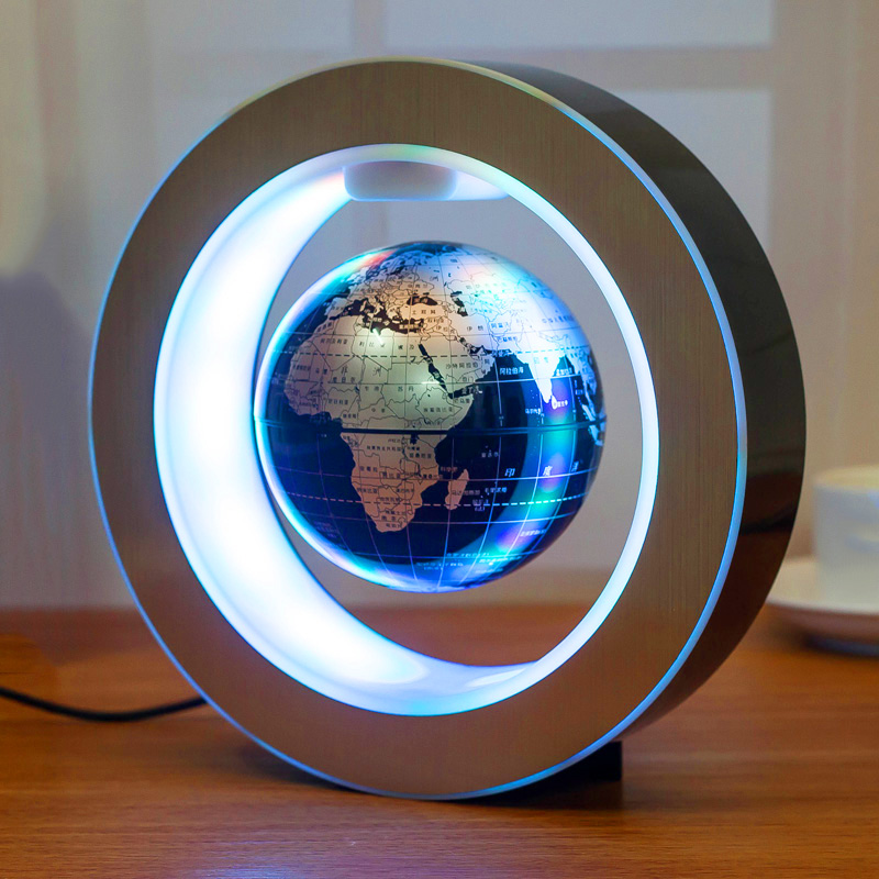 4 Magnetic Levitating Globe Anti Gravity Floating Rotate