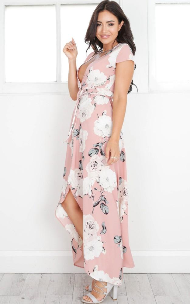 514d4aff5c5 Details about Popular Women Summer Vintage Boho Long Maxi Party Beach Dress  Floral Sundress