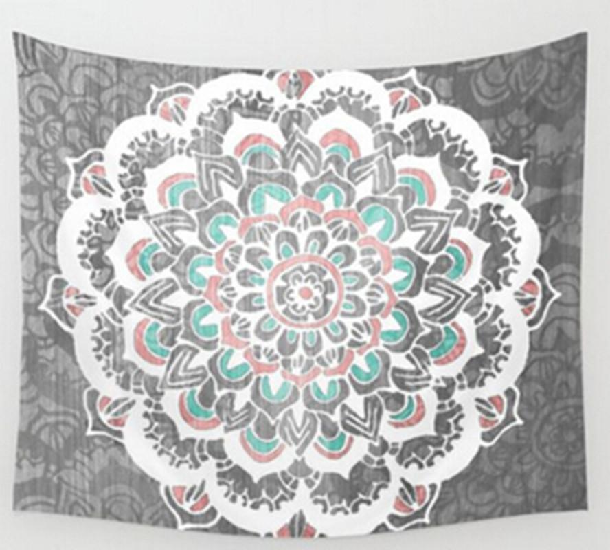 indisch tapisserie wandbehang mandala deko wandteppich. Black Bedroom Furniture Sets. Home Design Ideas