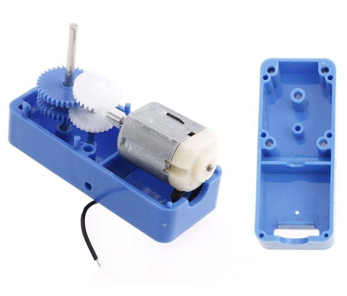 1 94 mini electric reduction box dc gear motor diy toy for Electric motor with gear reduction