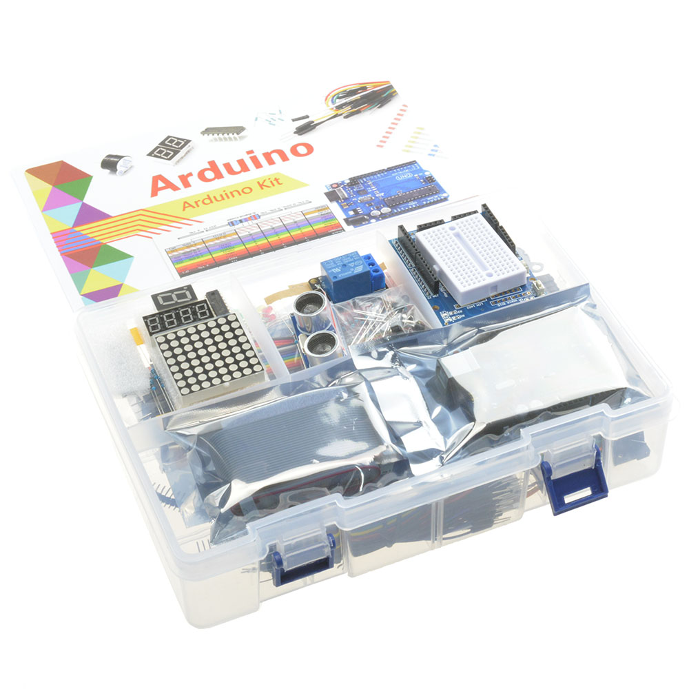 Ultimate uno r starter kit for arduino lcd servo