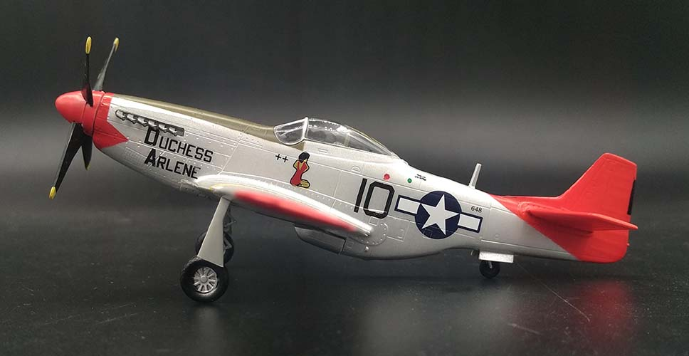 Details About Easy Model Wwii Us P 51d Mustang Red Tails Special Edition 1 72 No Diecast Plane
