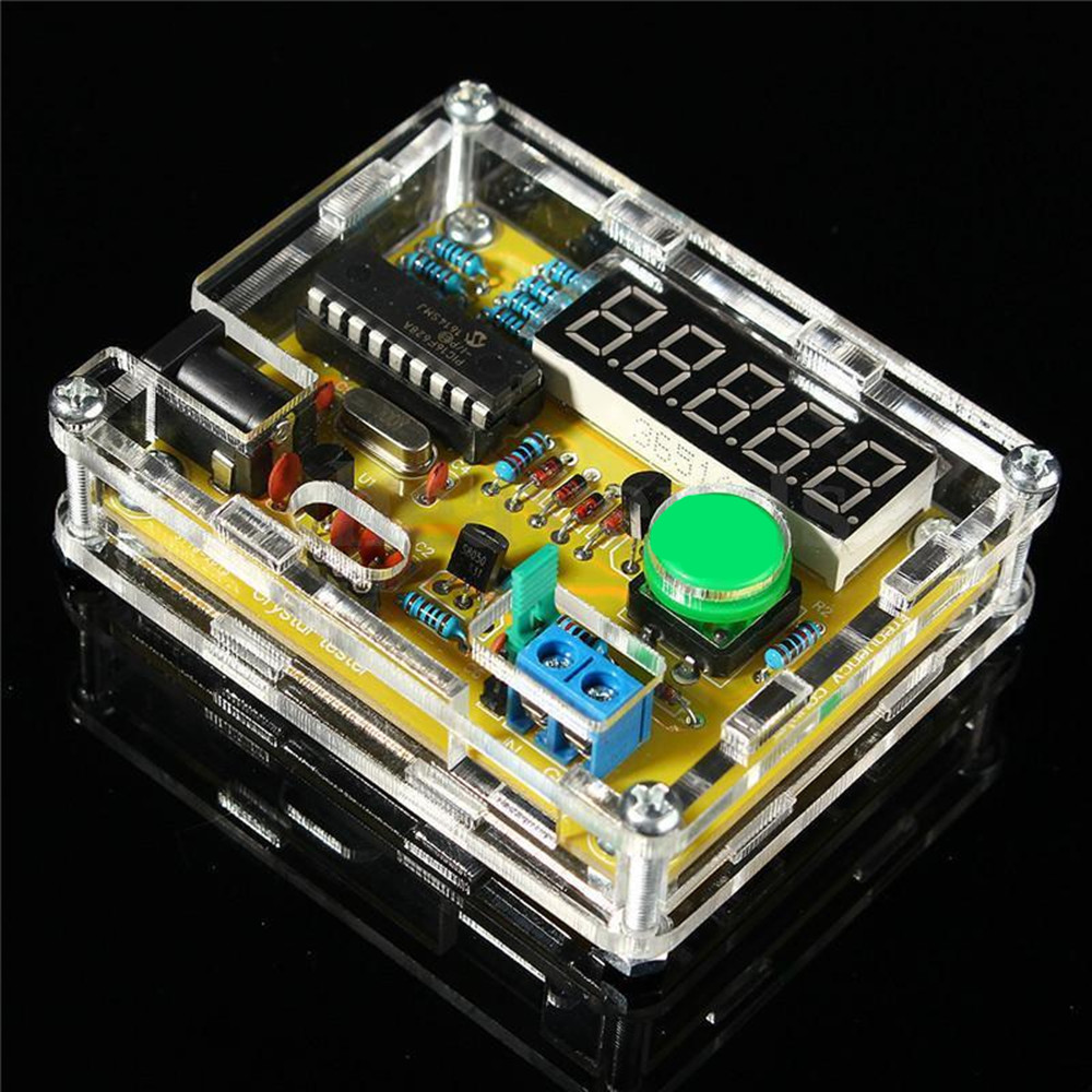 Pic 16f628 Frequency Counter : Diy kits hz mhz crystal oscillator tester frequency