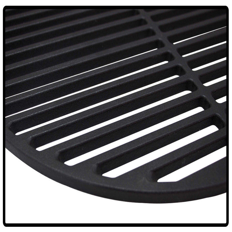 grillrost gu eisen gusseisen grillgitter grill emailliert grillaufsatz rund ebay. Black Bedroom Furniture Sets. Home Design Ideas