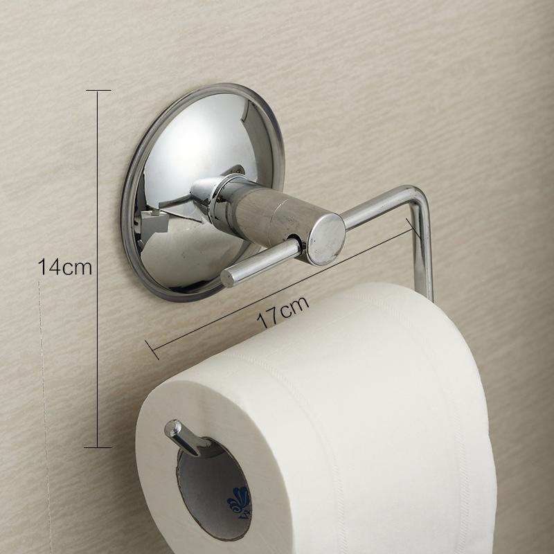 toilet paper roll holder hanger super strong suction. Black Bedroom Furniture Sets. Home Design Ideas