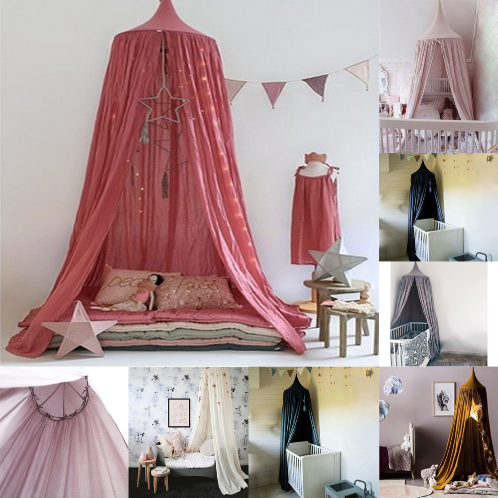 Top 30 Masculine Bedroom Part 2: Hang Round Princess Kids Girls Bed Netting Mosquito Net