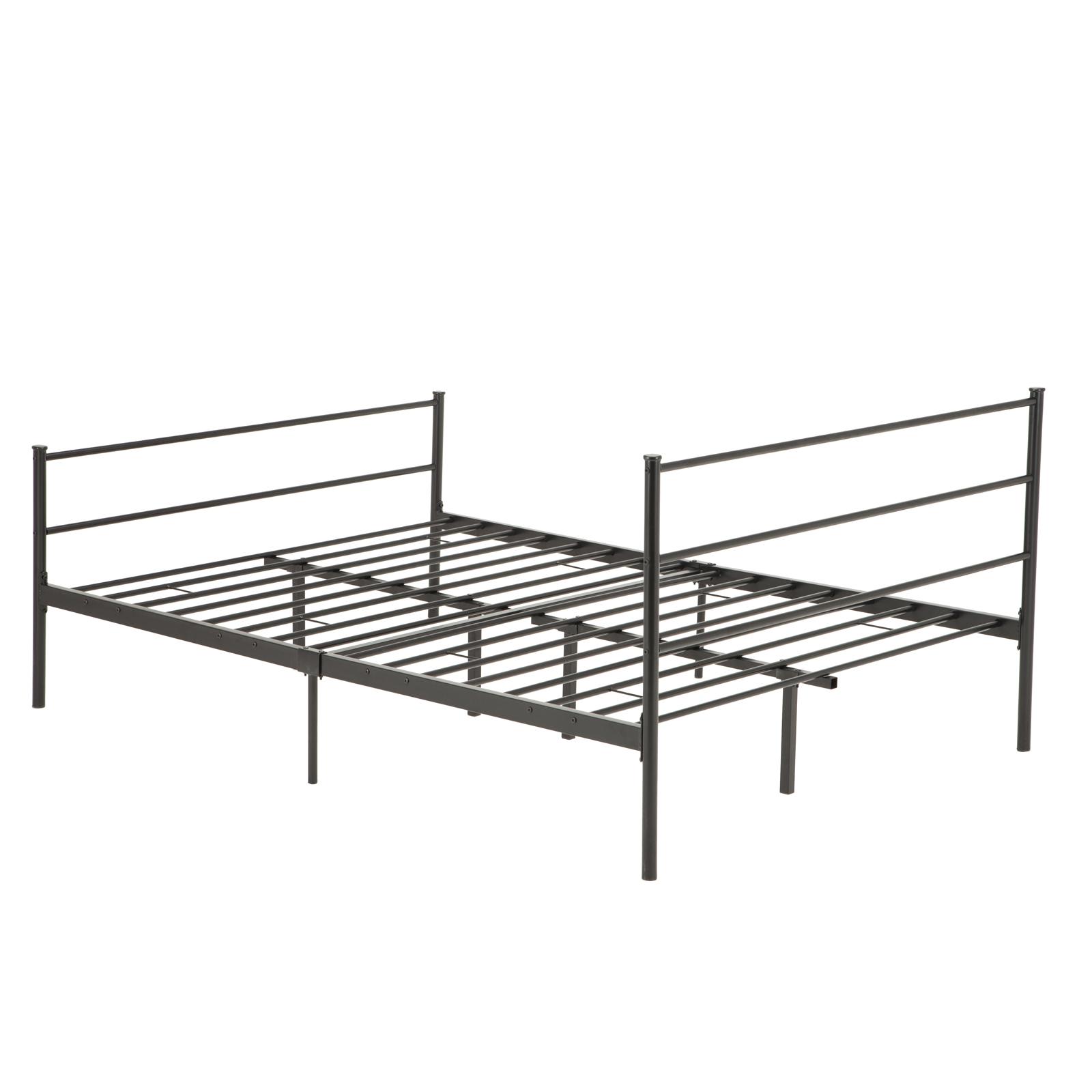 twin full queen size metal bed frame platform headboards 6 leg bedroom furniture ebay. Black Bedroom Furniture Sets. Home Design Ideas
