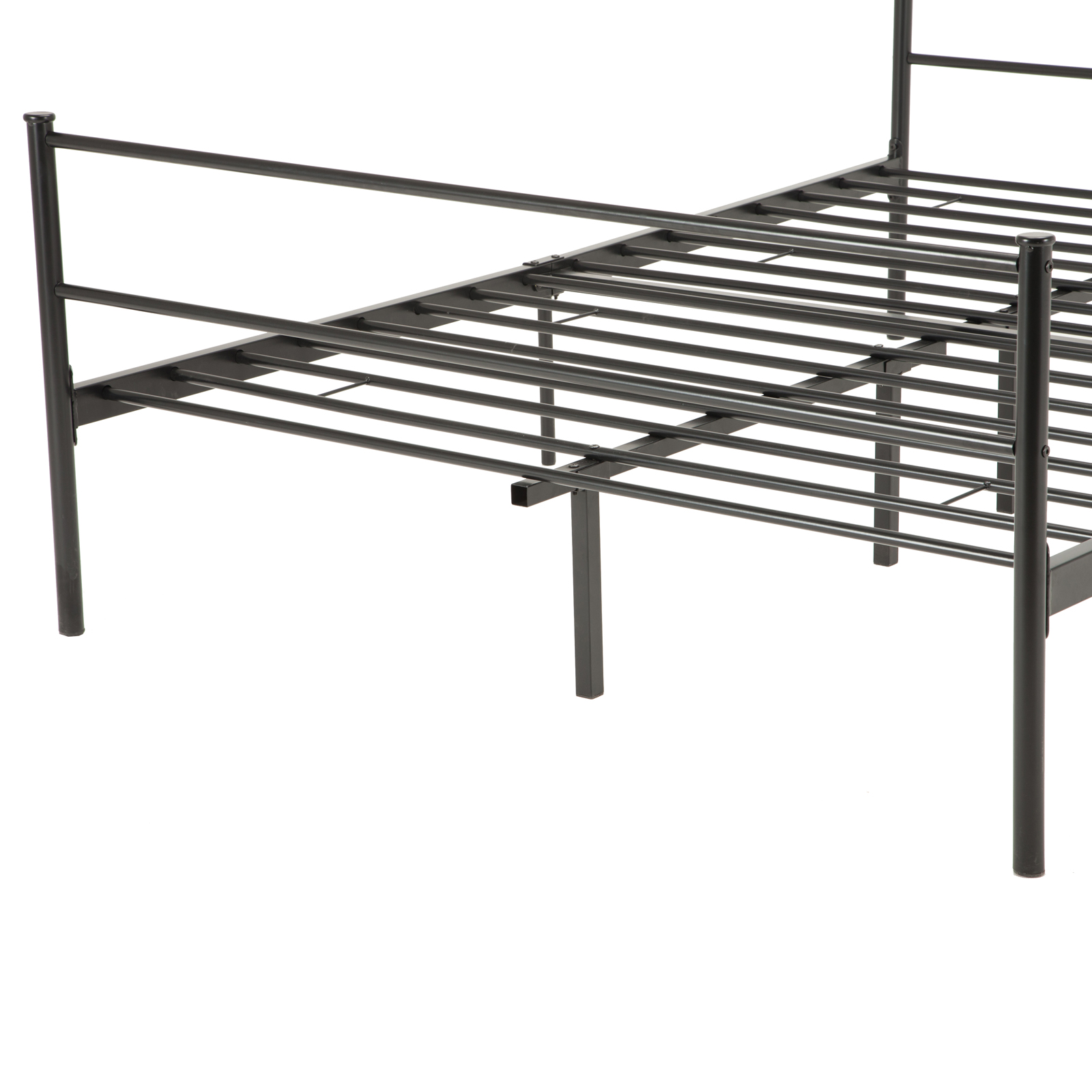 twin full queen size metal bed frame platform - Metal Bed Frame With Headboard