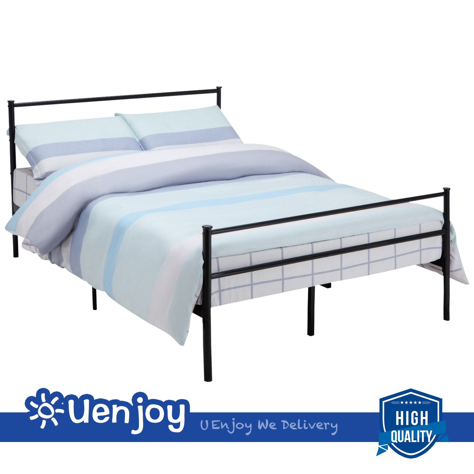 metal image direct furniture black monmouth bed frame bedroom