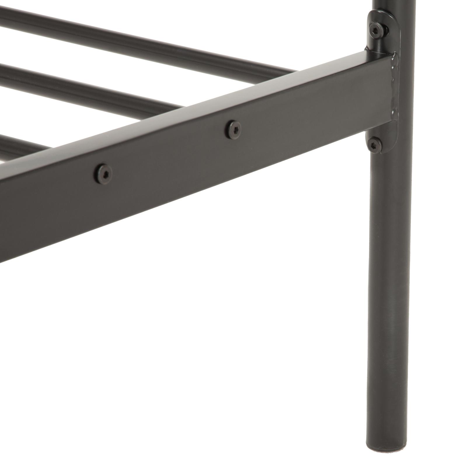 twin full queen size metal bed frame platform - Full Size Metal Bed Frames