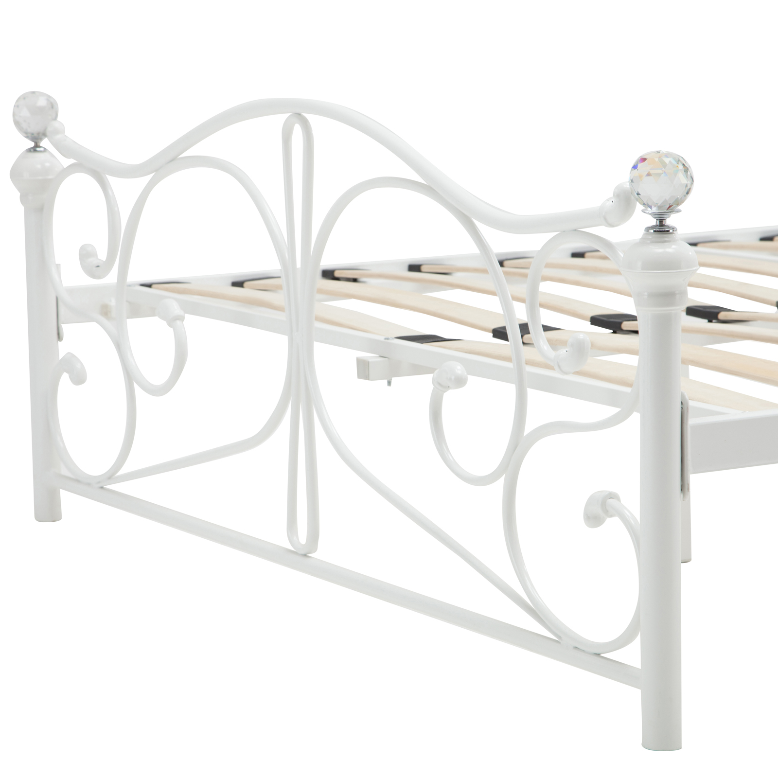 New Full Size Metal Bed Frame Headboard Footboard Bedroom