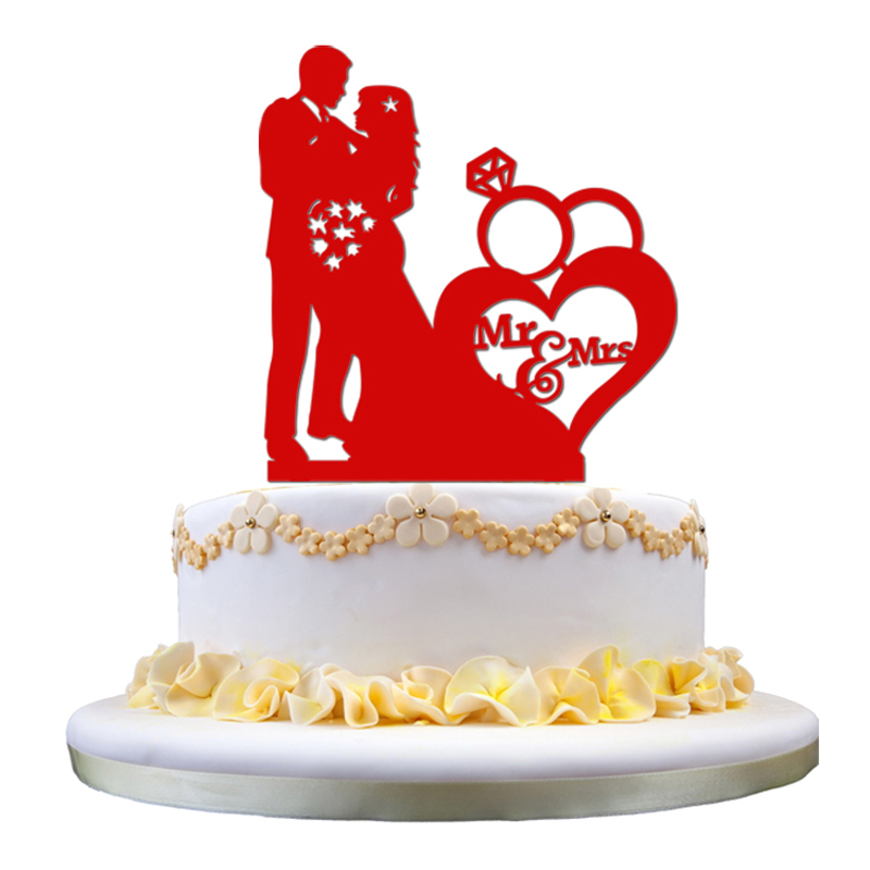 Mr And Mrs Cake Topper Canada