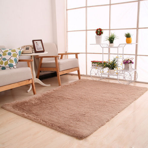 Home Bedroom Fluffy Shaggy Rugs Modern Living Room  Part 93