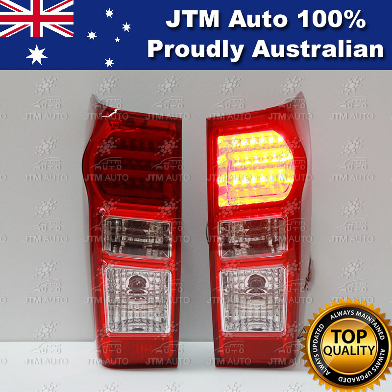 Isuzu D-max DMAX RED LED Tail lights for 2012 2013 2014 2015 2016 2017 2018