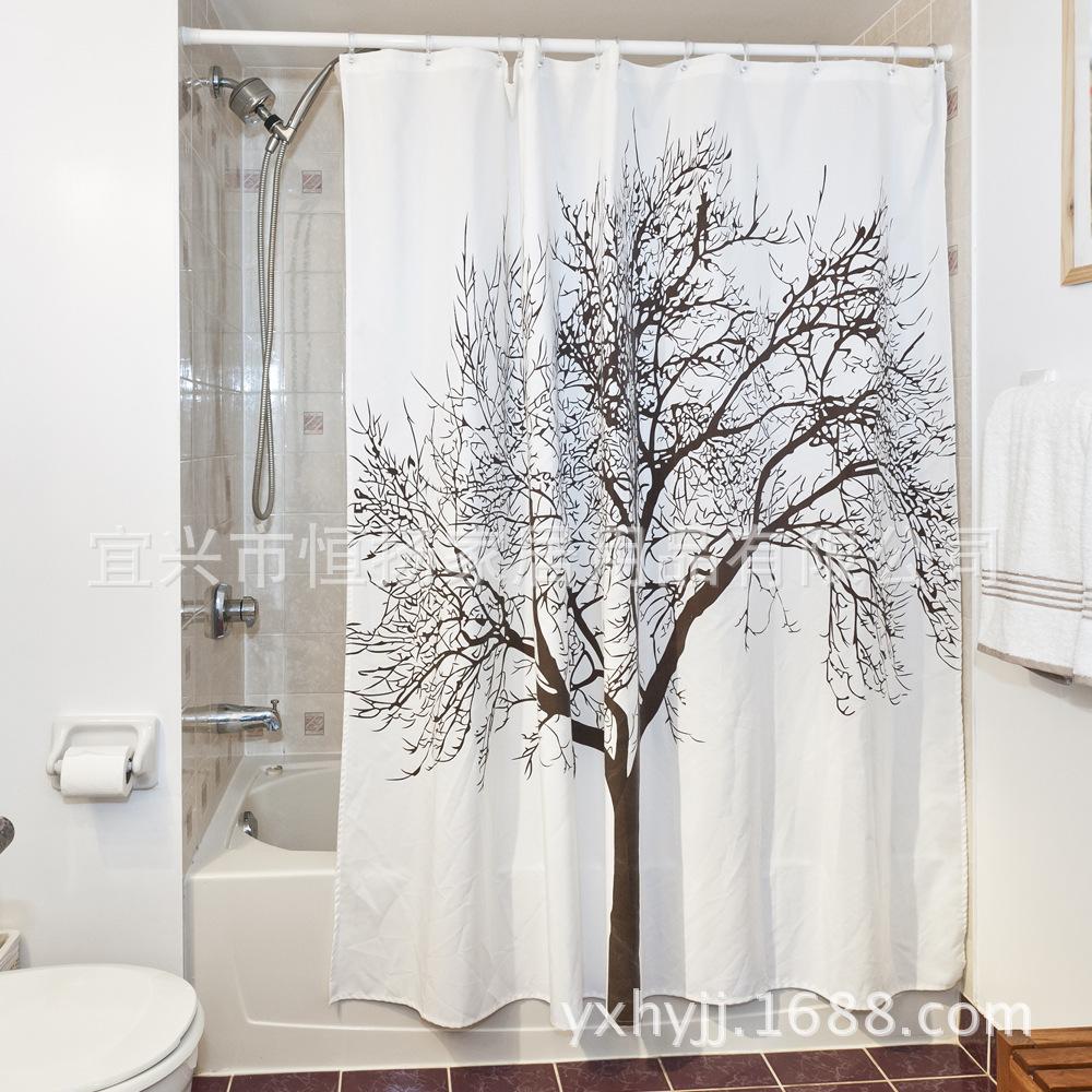 duschvorhang badewanne wanne dusche vorhang badewannenvorhang 180 x 180cm ebay. Black Bedroom Furniture Sets. Home Design Ideas
