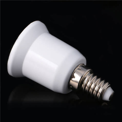 new e14 to e27 base screw led light lamp bulb holder adapter socket converter us 6942096033422. Black Bedroom Furniture Sets. Home Design Ideas