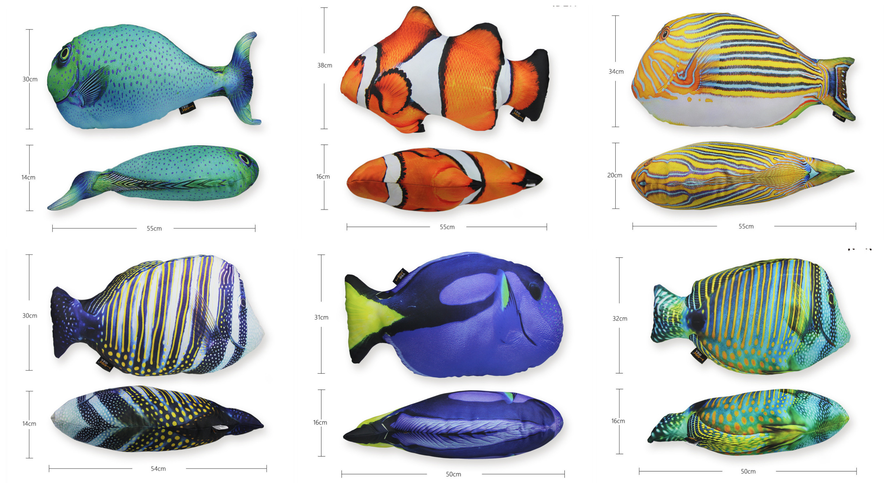 Fish shape pillow small size living room bedroom body for Fish body pillow