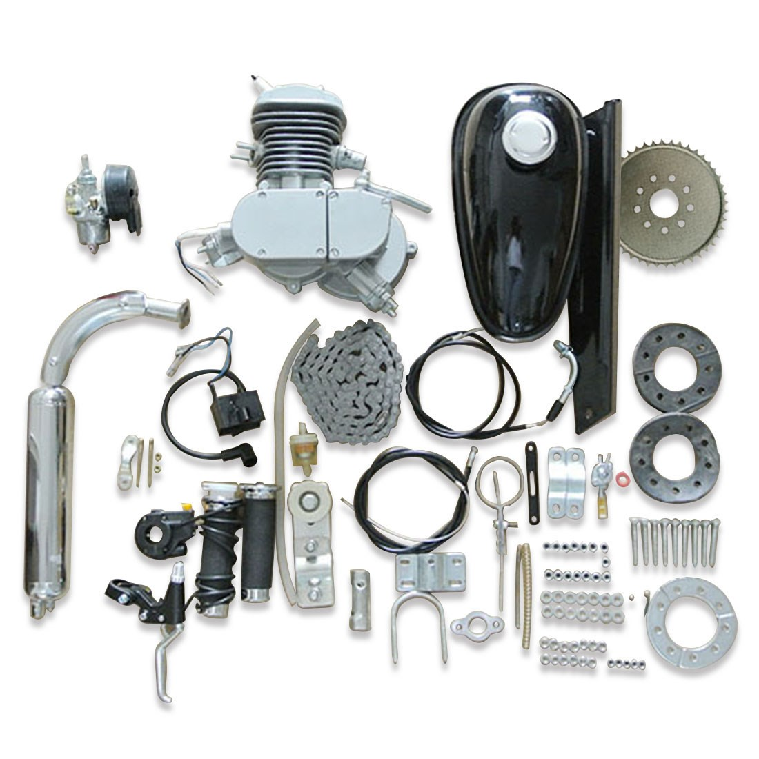 Bicycle Repair Parts : Replacement parts fits for cc stroke engine motorized