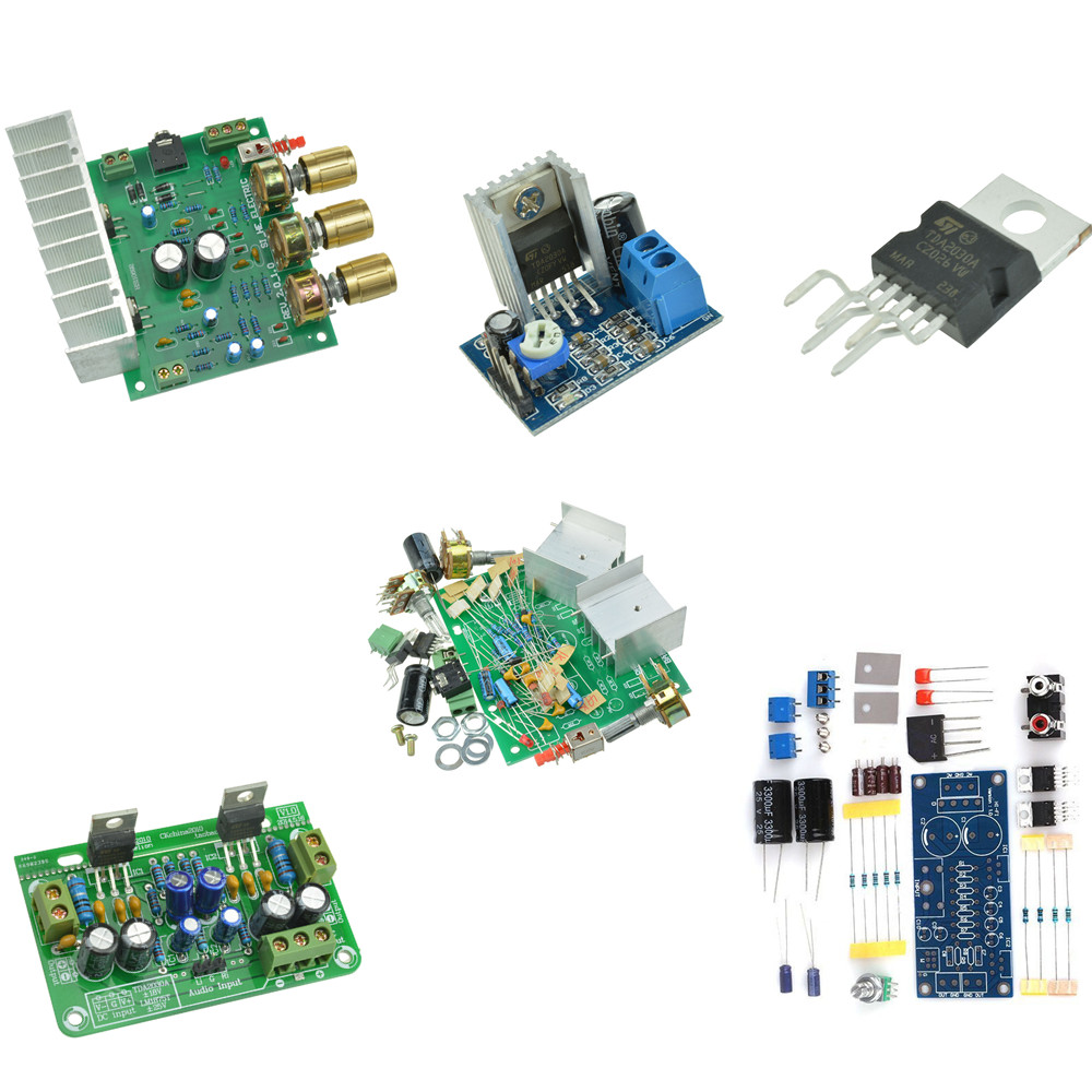 Tda2030a Audio Power Amplifier Arduino Components Tda2030 15w 18w Circuit And Explanation Electronic Circuits Diykit