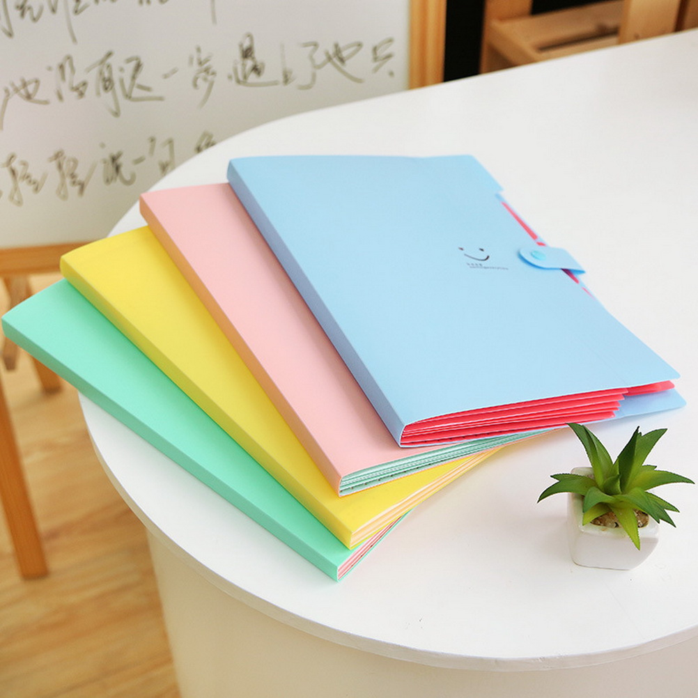 delicate a4 plastic paper storage file document bag pouch card holder folder ebay. Black Bedroom Furniture Sets. Home Design Ideas