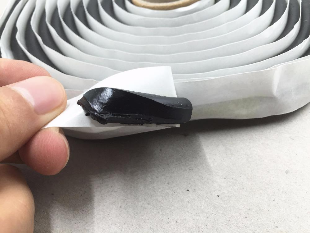 4m Black Butyl Rubber Glue Sealant Car Truck Headlight Led