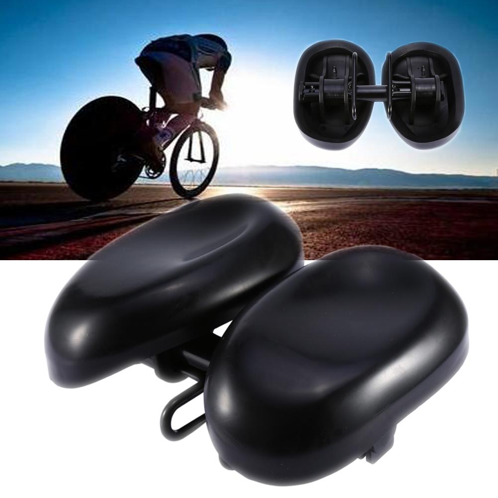 Extra Bike Seat : Shock absorption extra wide bicycle bike saddle cushion