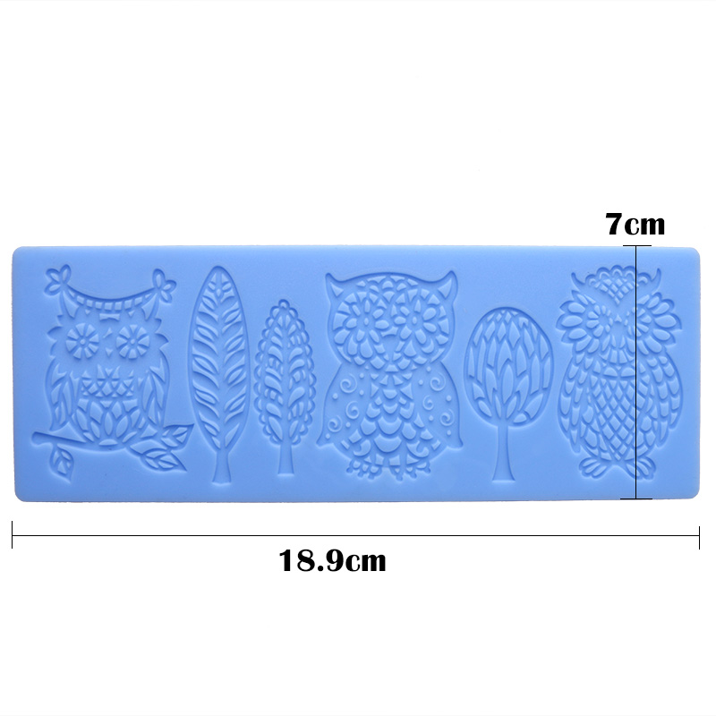 Lace Silicone Mold Mould Sugar Craft Fondant Mat