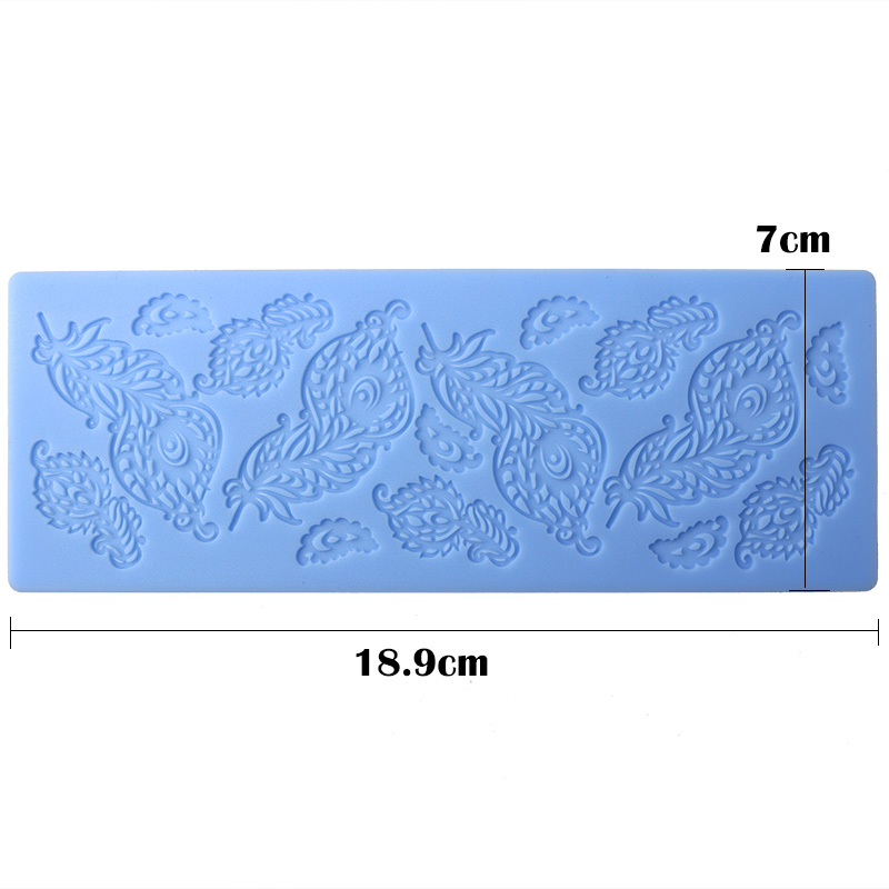 Lace Silicone Mold Mould Sugar Craft Fondant Mat