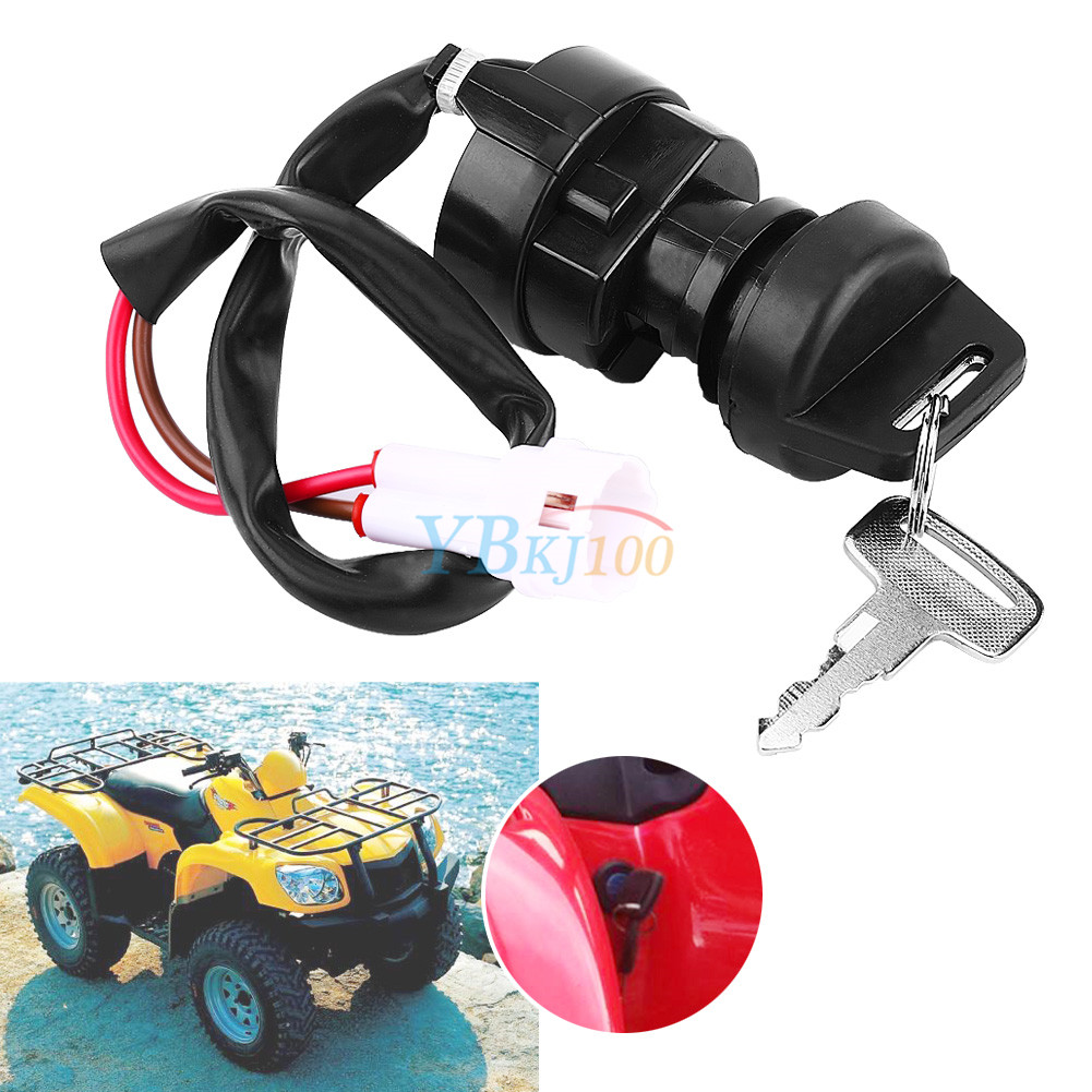 2 wire ignition key switch for yamaha yfm 350 bruin raptor ... ignition switch wiring for yamaha warrior yamaha ignition switch wiring diagram 1991 225