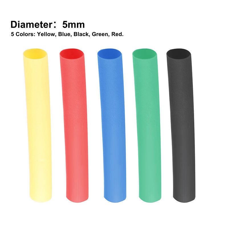 328pcs 2 1 Polyolefin Heat Shrink Tubing Tube Sleeve Wrap Wire Assortment 8 Size 656006324321 Ebay