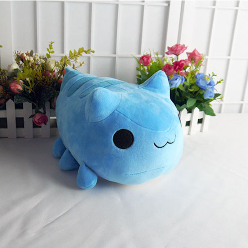 bugcat capoo cosplay blue cute cat toy stuffed plush cartoon doll